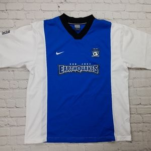 RARE Vintage 2001 MLS San Jose Earthquakes Jersey